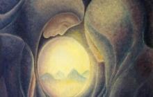 1979-Paasmorgen, olieverf, 50x60 cm