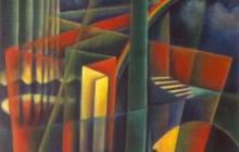 1988-Eva`s lied-olieverf, 55x70 cm