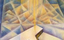 1994-Mystiek perspectief, olieverf, 60x70 cm