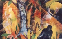 1997-Paradise lost, sjabloonprint, 60x80 cmc