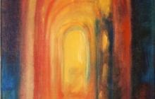2004-Doorkijkje, olieverf, 30x40 cm