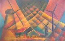 2007-Wiekslag, olieverf, 80x100