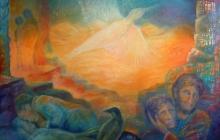 2010-Vogel-vrij, olieverf op doek, 100x120 cm