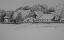 2012-Aspergeboerderij Diepenveen, gewassen inkt