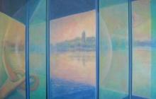 2014-Mijmerplek, olieverf op doek, 60x80 cm
