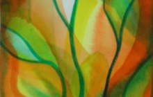 2016-Aquarel zonder titel, 30 bij 40 cm