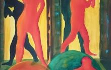 2018-Paradise lost, aquarel, 60 bij 80 cm