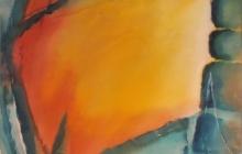 2006-Wit licht, aquarelpastel, 70x90 cm