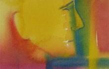 2009-Matroos, aquarelpastel, 24x30 cm