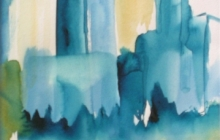 2005-Havengebied, aquarel, 30x40 cm