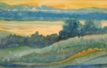 2008-IJsselfantasie, aquarel, 50x60 cm