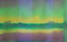 2014-Transparante horizon-taal 2, aquarel 40x50 cm