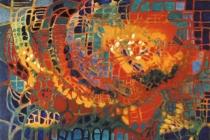2003-Labyrint, olieverf, 60x80 cm