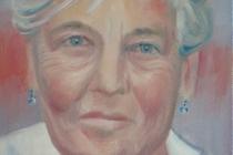 2009-Portret van een alt, olieverf op doek, 30x40 cm