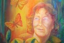 2013-Postuum portret, olieverf op doek, 50 bij 40 cm