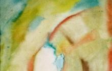 2006-Jiddisch lied, aquarel, 70x90 cm