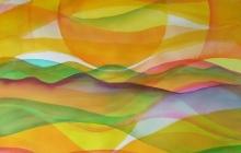2013-Planet Earth 1, aquarel, 90x70 cm