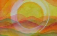 2013-Planet Earth 4, aquarel, 80x60 cm
