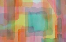 2013-Transparant colours, aquarel, 40x50 cm