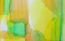 2013-serie kleurklanken 1, aquarel, 50x60 cm