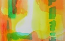 2013-serie kleurklanken 2, aquarel, 50x60 cm