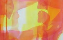 2013-serie kleurklanken 4, aquarel, 50x60 cm