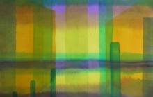 2014-Horizon-taal 1, aquarel 50x65 cm