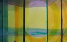 2014-Horizon-taal 3, aquarel 50x65 cm