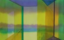 2014-Horizon-taal 4, aquarel 50x65 cm