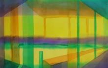 2014-Horizon-taal 5, aquarel 50x65 cm