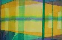 2014-Horizon-taal 6, aquarel 70x90 cm