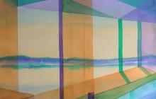 2014-Horizon-taal 8, aquarel 60x80 cm