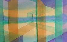2014-Horizon-taal 9, aquarel 60x80 cm