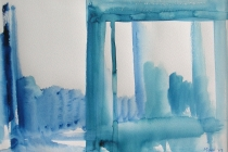 2005-Plein, aquarel, 40x50 cm