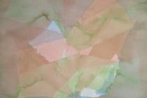 2013-Aquarel in lasurtechniek 1, aquarel, 90x70 cm