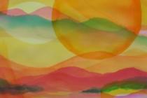 2013-Planet Earth 3, aquarel, 60x50 cm