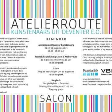 Atelierroute + Salon Bergkerk