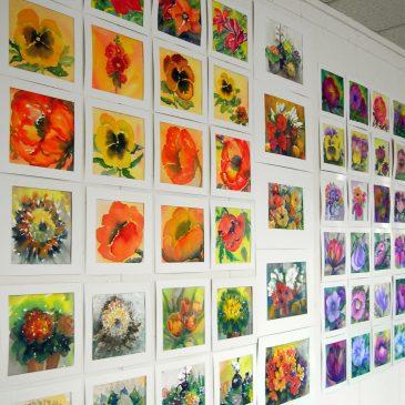 Bloemenproject voor Etty Hillesum