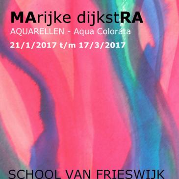 Aqua Colorata – Solo expositie in De School van Frieswijk