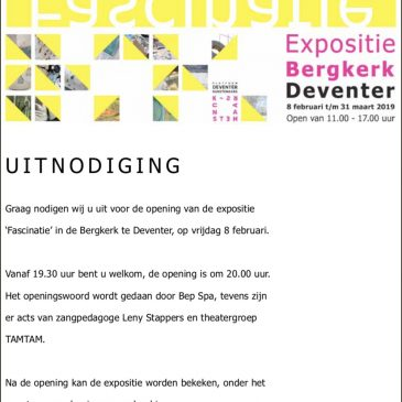 Uitnodiging FASCINATIES